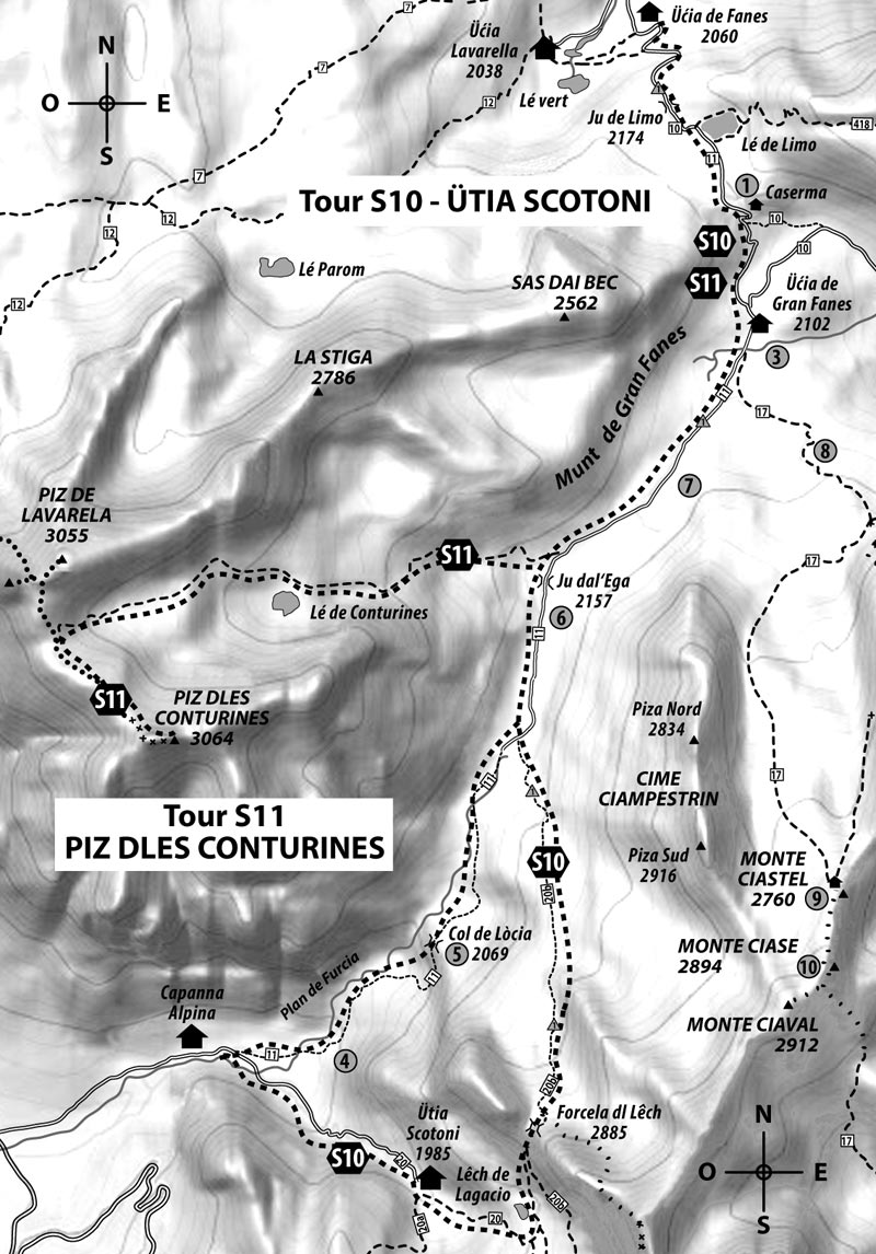 Tour S10: SCOTONI HÜTTE  – 1985 m